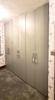 Large fitted 6 door wardrobe