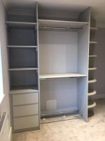 fitted shelf unit